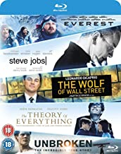 Everest - Steve Jobs - Wolf Of Wall Street - Theory Of Everything - Unbroken [Blu-ray]