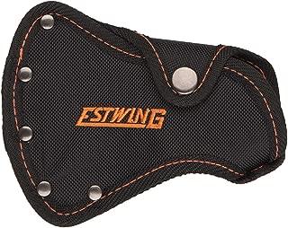 Estwing no 27 Sportsman's Axe - Camper's Hatchet Sheath - Black with Orange Stitching - Fits E24A & EO-25A