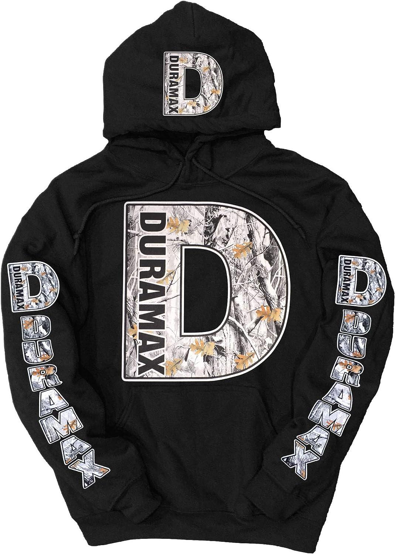 DGDW Duramax Snow Camo Logo Hoodie