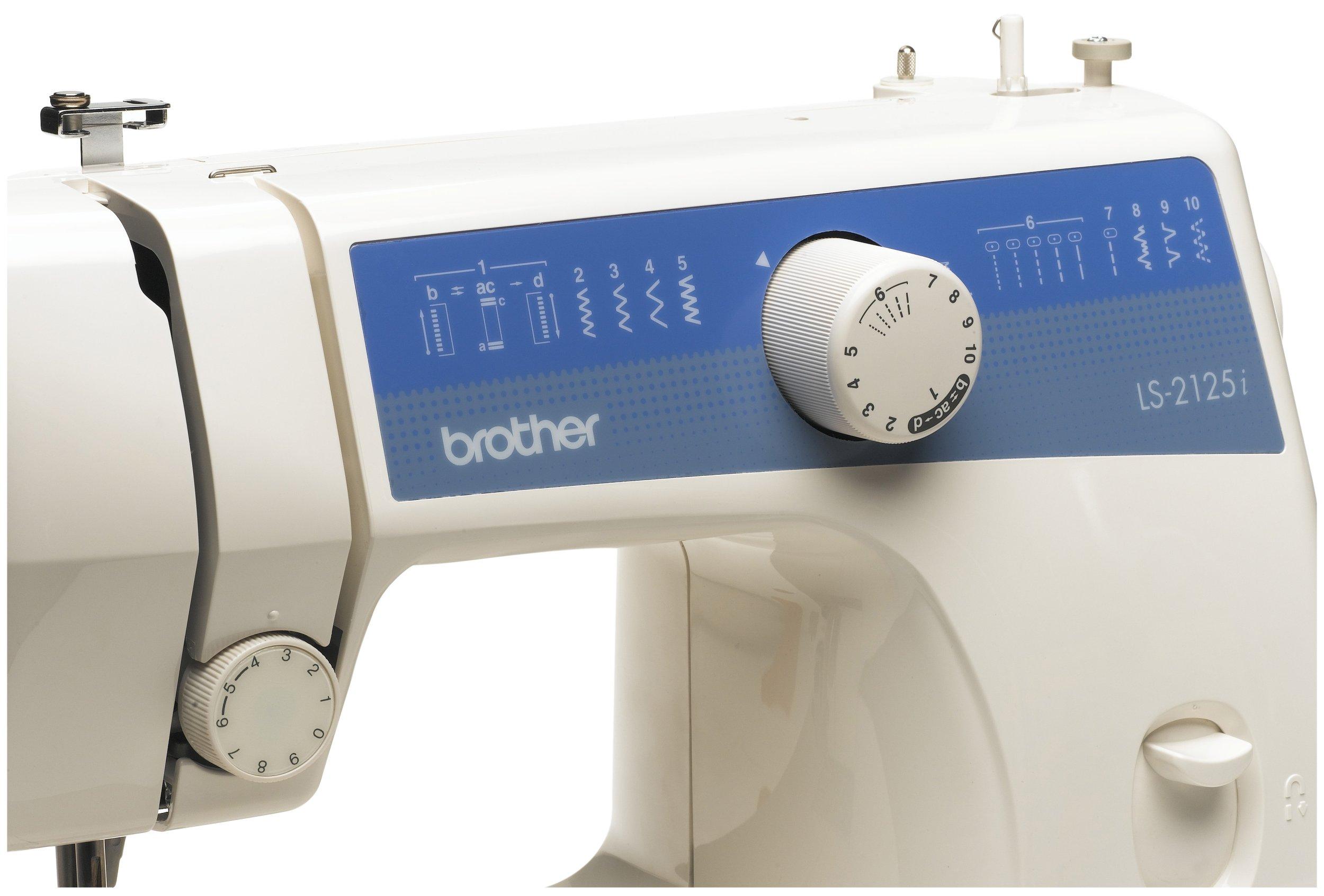 Brother LS-2125i - Máquina de Coser (Blanco, Máquina de Coser ...