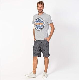 Camisa T-shirt Circulo Vonpiper Folhas Mescla