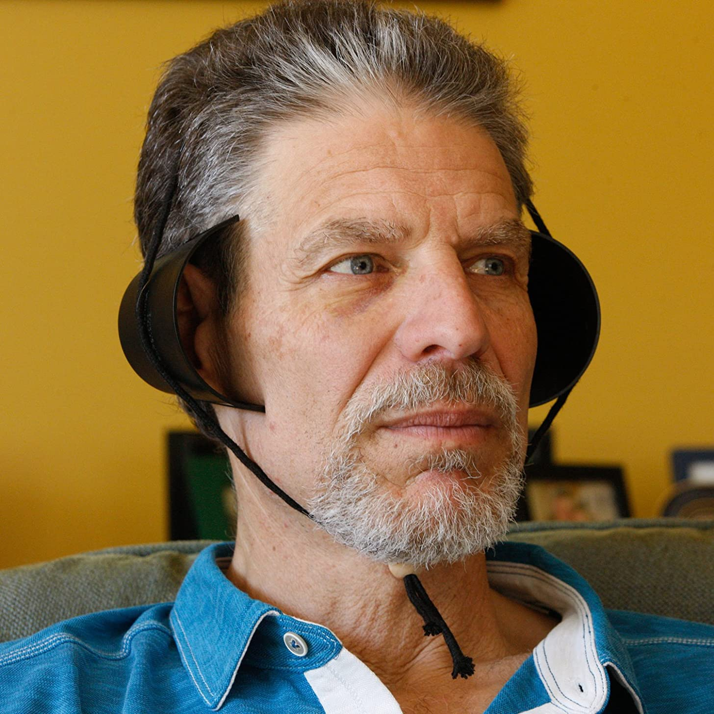 Dixie Hear Cups Non-Electric Hearing Amplifier, Works Like Cupping Your Ears