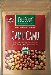 Organic Camu Camu Powder (4oz)   USDA Certified   Rich In Vitamin C, Helps Boost the Immune System & Reduce Inflammation  ...