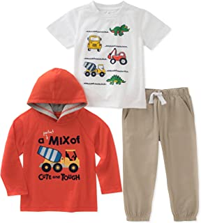 Kids Headquarters Baby Boys 3 Pieces Pants Set