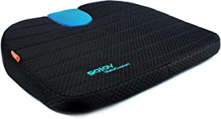 SOJOY Multi-Function Car Seat Cushion Drivers Wedge Coccyx Support for Back, Hemorrhoids, Hip, Leg Pain Orthopedic Memory ...
