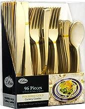 gold flatware cheap