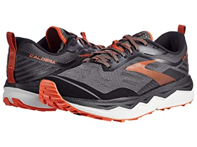 Brooks Caldera 4 (Black/Grey/Burnt Ochre) Men