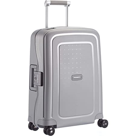 Samsonite S'Cure - Spinner S Bagage à Main, 55 cm, 34 L, Argent (Silver)