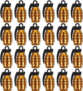 VICASKY 24Pcs Válvulas Stem Caps Tampas de Pneu de Carro Válvulas Attractive Peças Do Carro Decoração