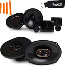"""$199 » Infinity Reference - REF-6530CX 6.5"""" 2-Way Component System, and REF-9633IX 6x9 3-Way Car Audio Speakers Package"""
