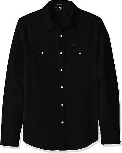 Volcom Hayes L S noir XL