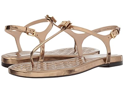 Cole Haan Tali Mini Bow Sandal (Gold Specchio) Women