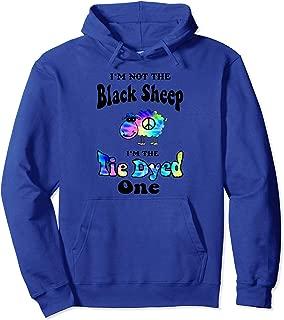 black sheep tie dye hoodie