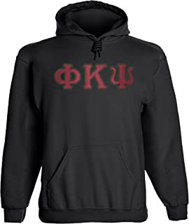 Phi Kappa Psi Twill Letter Hoody