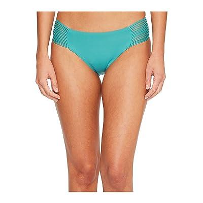 Isabella Rose Beach Solids Maui Bikini Bottom (Caribbean) Women