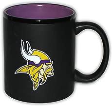 Minnesota Vikings 11 Oz. Two Tone Black Ceramic Coffee Mug