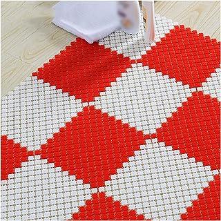 XXIOJUN Shower Mat, Foot Pad Assembled Mat DIY Installation Fast Drainage Can Be Cut Anti-fall 1cm Thickness For Elderly, ...