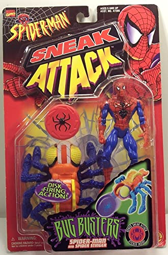 80% de descuento Spider-Man Sneak Attack Attack Attack Bug Busters Spider-man with Spider Stinger Action Figure by Spider-Man  selección larga