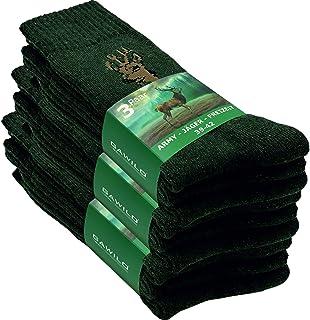 GAWILO Lot de 9 paires de chaussettes de loisirs en coton résistant