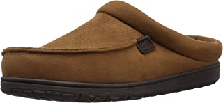 Dearfoams Men's Perforated Microsuede Clog