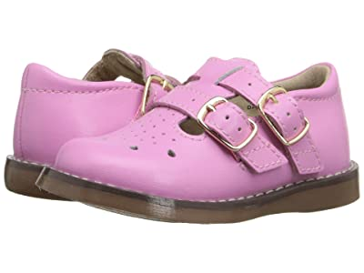 FootMates Danielle 3 (Infant/Toddler/Little Kid) (Bubblegum) Girls Shoes