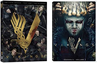 Vikings - Complete Fifth Season 5 (Parts 1 & 2 Bundle) (6-Disc set) DVD