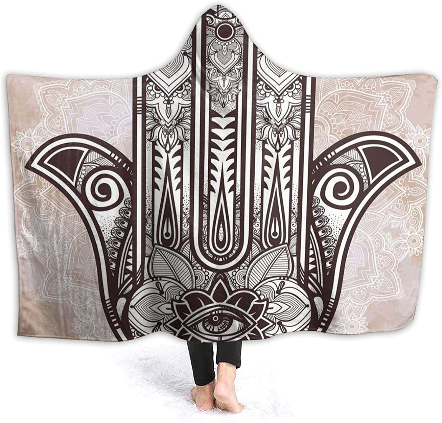 Hooded Blanket Free shipping New Anti-Pilling Flannel Esoter Asian Culture Selling and selling Eastern