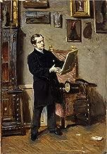 Giovanni Boldini Self-Portrait While Looking at a Painting 1865 Galleria dArte Moderna di Palazzo Pitti 30