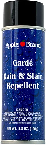 Apple Brand Garde Rain & Stain Water Repellent - Protector Spray For Handbags, Purses, Shoes, Boots, Accessories, Fur...