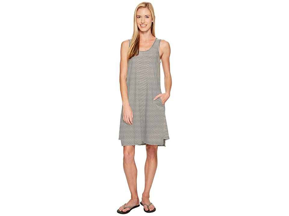 NAU Astir Tank Dress (Caviar Stripe) Women