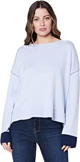 St. Cloud Label Women's Tambora Fine Knit Crew