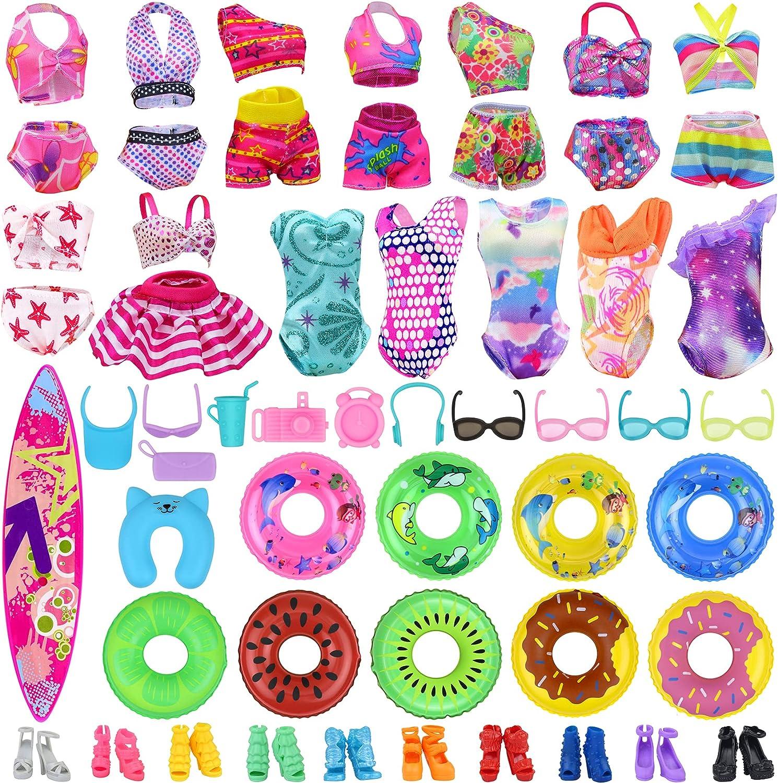 Ecore Fun 35 Max 57% OFF PCS Doll Clothes Beach Bathing Includi Swimwear Trust Kit