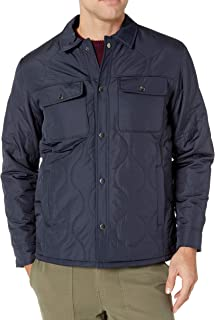 Amazon Essentials Men's Quilted Shirt Jacket