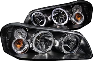 Anzo USA 121113 Nissan Maxima With Halo Black Headlight Assembly - (Sold in Pairs)