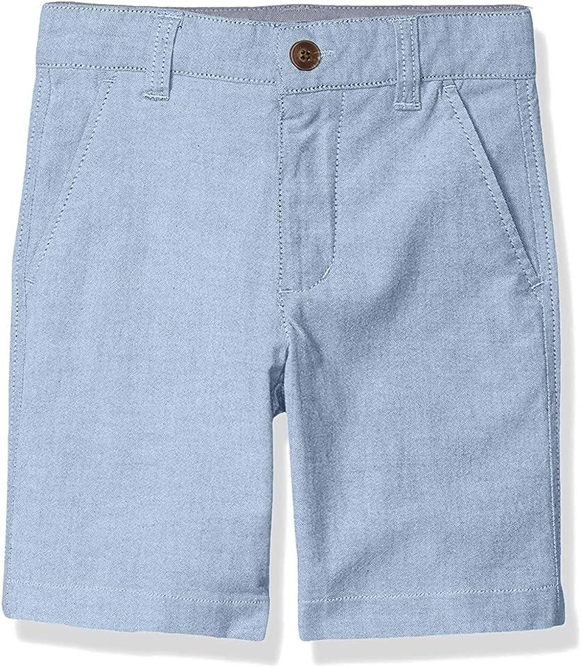 Nautica Boys' Flat Front Shorts