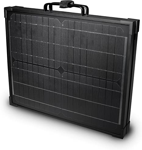 Nature Power 120W Portable Monocrystalline Solar Panel