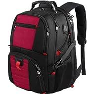 Extra Large Backpack,TSA Laptop Backpacks with USB Charging Port,Durable Travel Laptop Backpacks...