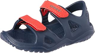 Crocs Swiftwater River Sandal K, Bout Ouvert Mixte Enfant