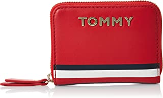 Tommy Hilfiger GP Corporate Small ZA Mascot Wallet, Red, AW0AW08133