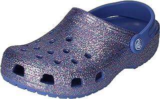 Crocs Classic Glitter Clog Kids, Zoccoli Unisex-Bambini