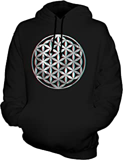 CandyMix Unisex Flower of Life 3D Mens/Womens Hoodie