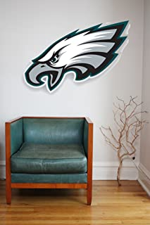 NFL logo decal, Eagles NFL decal, Eagles stickers, Philadelphia Eagles large decal, Eagles decal, Eagles sticker, Eagles decor, Eagles wall decal, Philadelphia Eagles logo decal pf74 (15