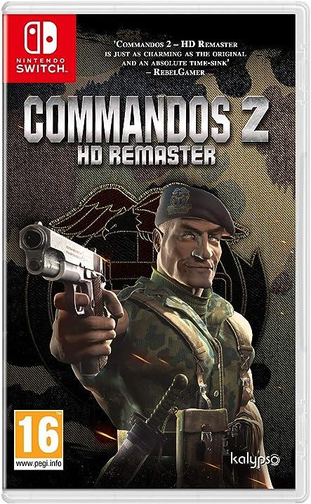 Commandos 2 hd remaster - nintendo switch kalypso 1058901