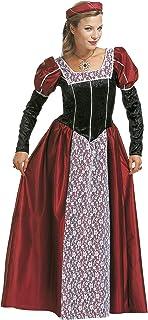 WIDMANN Widman - Disfraz de realeza medieval para mujer, talla M (S/35482)