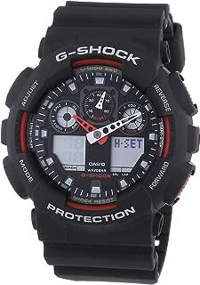 Casio Mens Quartz Watch, Analog-Digital Display and Resin Strap GA-100-1A4ER