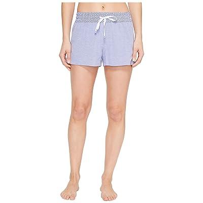 Jane & Bleecker Peached Pique Shorts 3511305 (Bluebell) Women