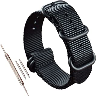 Thick Nylon Watch Strap Replacement(18 19 20 21 22 23 24 25 26 28mm)