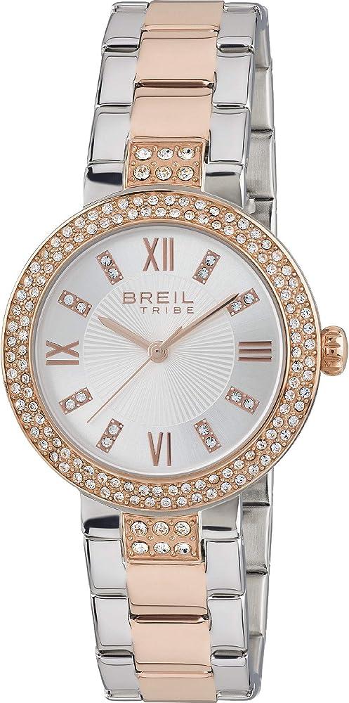 Breil orologio donna tribe dancefloor con cristalli rose EW0420