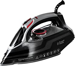 Russell Hobbs Powersteam Ultra 3100 W Vertical Steam Iron 20630 - Black and Grey