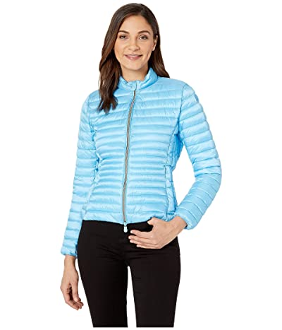 Save the Duck Non Hooded Basic Jacket (Ethreal Blue) Women